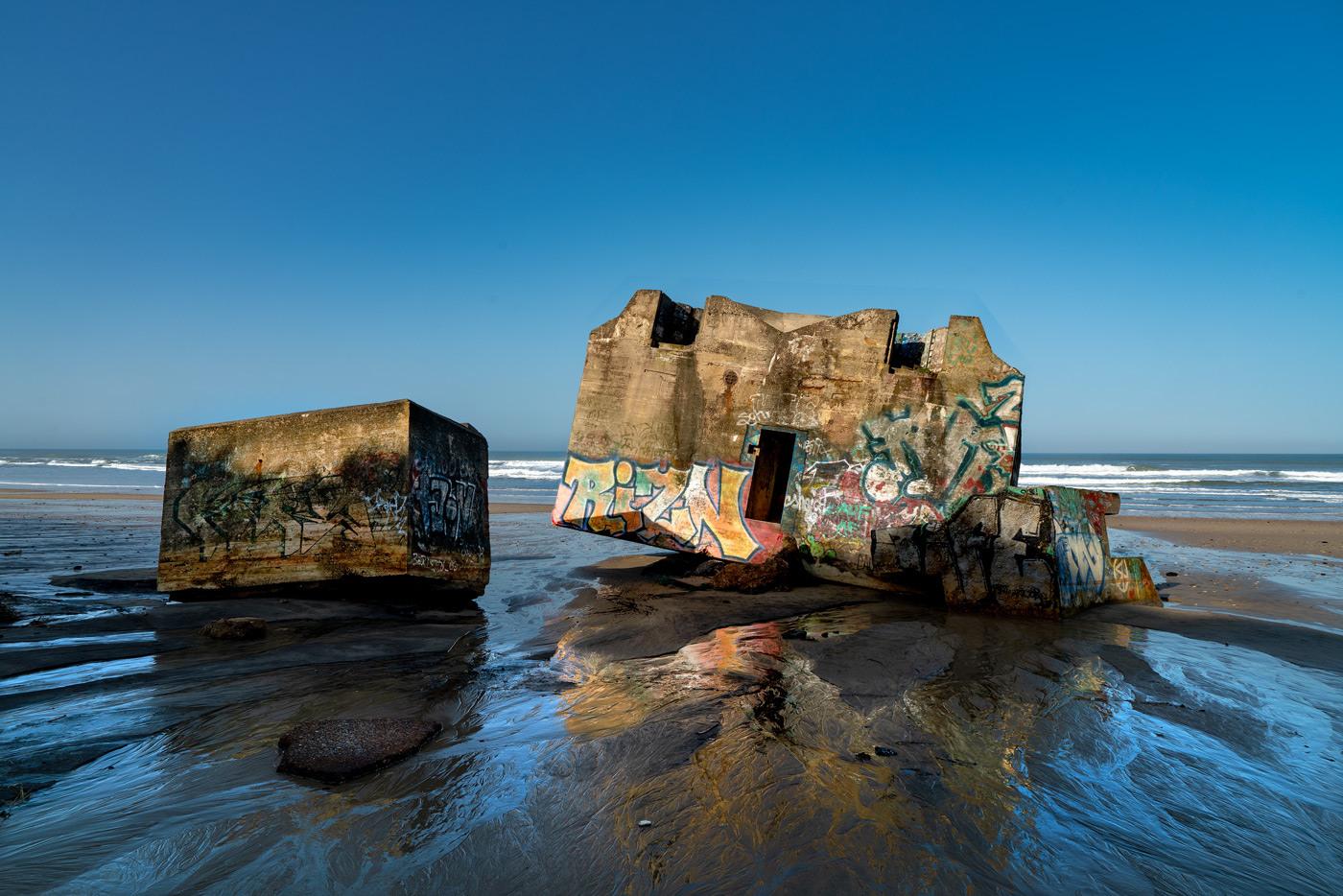 DSC00570_Naujac-sur-Mer_R600-Bunker-am-Strand-morgens-unret